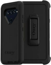 OtterBox Defender Series Protective Case & Clip Holster for LG V40 ThinQ - Black