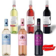 6 x 75 cl Alkoholfreier Wein 2x Weiss 2x Rose 2x Rot <0,5% vol Jung + Sommerau