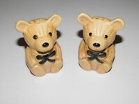 Vintage Giftcraft Bear Shaped Salt & Pepper Shakers