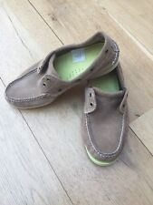 """Mens Real Suede """"Timberland"""" Boat Shoes  Size 10W"""