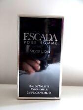 ESCADA POUR HOMME SILVER LIGHT EAU DE TOILETTE 75 ML NEUF RARE
