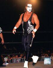 "Sting foto WWE 8x10"" WRESTLING UFFICIALE PROMO TNA WCW"