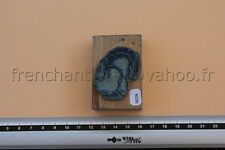 N200 French antique school rubber stamp farm turkey 6*4cm tampon scolaire dindon