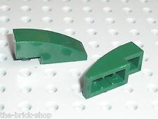 LEGO DkGreen Slope Brick Curved ref 50950  / Set 7930 7683 5868 7754