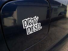 2x sucia Diesel, Funny calidad Vinilo Stickers / Calcomanías para coche o furgoneta 12 Colores
