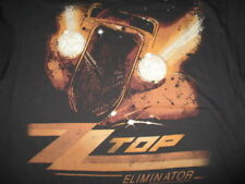 "Retro 2011 Zz Top ""Eliminator"" Concert Tour (Xl) T-Shirt Billy Gibbons"