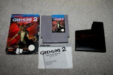 Nintendo NES - Gremlins 2 - Complete - Boxed + Instructions - PAL A