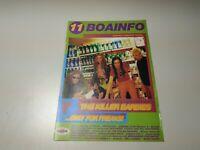 0220- REVISTA MUSICAL  7 PAGINAS  BOAINFO Nº 11 THE KILLER BARBIES 90S