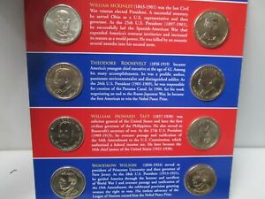 2013 US P & D Mint Presidential $1 Uncirculated 8 Coin Set