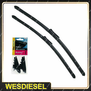 Tridon FlexConnect Wiper Blade & Connector Set for Renault Clio 07-10