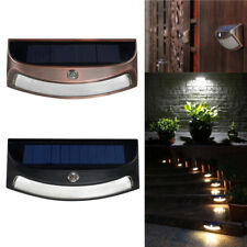 LED Solar Lights Waterproof PIR Motion Sensor Wall Lamp for Outdoor Yard Garden