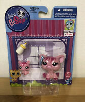 Littlest Pet Shop LPS Mommy and Baby #3595 Pig and #3596 Baby Pig