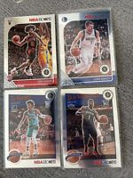 2019-2020 NBA Hoops Premium Stock ZION, JA, WHITE & DONCIC Base Cards LOT