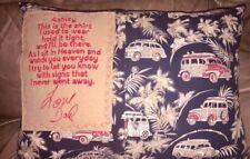 Memory shirt pillow, keepsake memory pillow, pillow made from clothes, grief gif