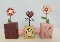 MOM - New resin block with flowers - Blossom Bucket#29927
