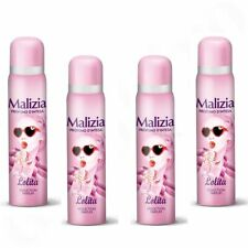 MALIZIA DONNA Body Spray deodorant deo Lolita 4x 100ml