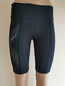 2XU Womens Shorts - Black Size S
