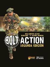 Perno de acción Segunda Edición Española-Warlord Games-II Guerra Mundial