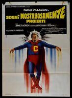 Poster Träume Ungeheuer Verbotene Paul Dorf Superman Fantozzi M262