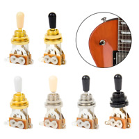 Electric Guitar 3 Way Pickup Toggle Switch rhythm treble for Les Part 6 color