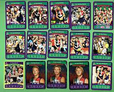 #D307.  41  FREMANTLE DOCKERS  AFL  AUSTRALIAN RULES FOOTBALL CARDS