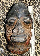 African Wooden Head bust mask