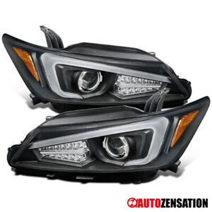 For 2011-2013 Scion tC Black LED Signal Projector Headlights Left+Right 2012