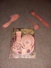 Lot Pine Needle Raffia Basketry Book & Pine Coil & Raffia & Pine Needle Bundle