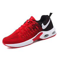 Men's Air Cushion Casual Running Sneakers Tank Sole Sports Breathable Shoes
