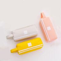 Creative Double Zipper Pencil Case Kawaii Pencil Cases Large Pen Box Big Fo E6J7