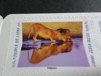 FRANCE 2020, timbres AUTOADHESIFS ANIMAUX, COUPLE DE LIONS, neuf**, MNH