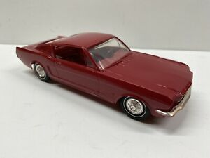 Vintage AMT 1965 Ford Mustang 2+2 Fastback 1:25 Scale Promotional Model Promo