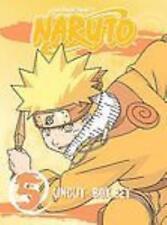 Naruto Uncut: Box Set Vol. 5 3-Disc Set DVD VIDEO MOVIE ninja academy action