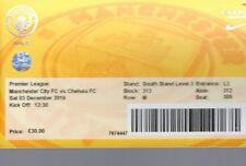 Used Ticket - Manchester City v Chelsea 3.12.2016