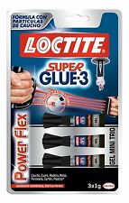 Loctite 1885734 3g Super Glue Mini TRIO Power Flex GEL - Transparent