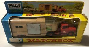 Lesney MatchBox K-18 Articulated Horse Van w/Original Window Box