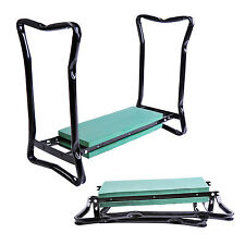 Sturdy Garden Kneeler Gardener Kneeling Pad & Cushion Seat Knee Pad Seat Folding