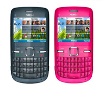 NEW Original Nokia C3-00 BLUE WIFI 2MP bluetooth camera Jave unlocked cell phone