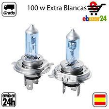 2 BOMBILLAS H4 12V 100W BOMBILLA LAMPARA HALOGENA EXTRA BLANCO *Envío GRATIS des