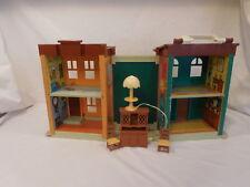Sesame Street Fisher-Price Mr Hooper's Store Playset & Acc Light Vintage 1974