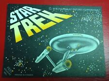 1976 STAR TREK Puzzle Piece & Sticker Card  Canada Made