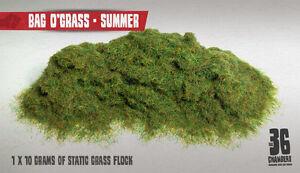 Bag O'Grass - 2mm Summer Static Grass Flock (10g)
