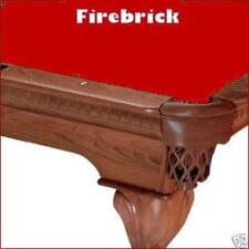 8' Firebrick ProLine Classic Billiard Pool Table Cloth Felt - SHIPS FAST!
