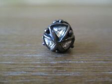 Trollbeads Crystal Triangles Silver Bead 00027