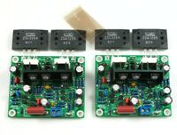 MX50 SE 2SA1295 2SC3264 Power amplifier board kit Dual Channel power amp 100W*2
