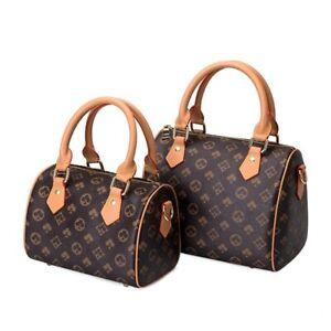 Women Luxury Designer Handbag Monogram Crossbody Shoulder Bag Leather Vintage