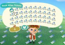 400 Nook Miles Tickets + 12 Million Bells - Animal Crossings: New Horizons ~ Nmt