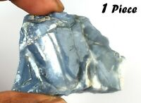 1 Piece Blue Opal Gemstone Rough 200-250 Ct/48 mm Australian Natural Untreated