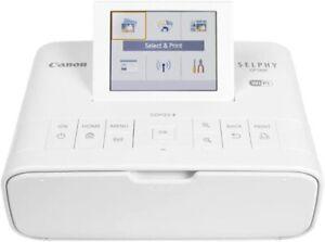 Canon SELPHY CP1300 Wireless Compact Photo Printer (White)