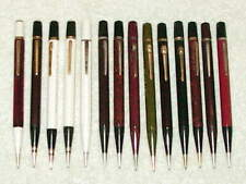 14 LARGE VINTAGE AUTOPOINT ADVERTISING MECHANICAL PENCILS WORKING